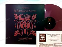 The Enid - An Alternative History Volume Two Uk Lp 1994 +insert Pink Vinyl And039