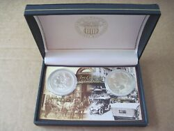 1889 Morgan And 1923 Peace Dollar Uncirculated Silver 1 World Res Monetary Exch