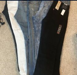 Lot Of 20 Pairs Men's Jeans All Good Brands Size 38 Waist Levi Asos Guess