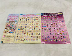 Sanrio Character Awards Special Events Tokyo Metro Stamp Rally Stickers