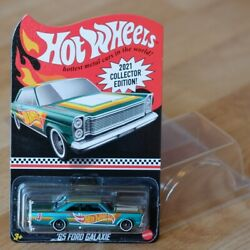 Mail In 2021 No.4 Hot Wheels Collector Edition 1965 Ford Galaxy 500 Premium Rare