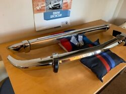 Bmw 2002 E10 Bmw 2002tii Bumper Set Front And Rear Stainless Steel