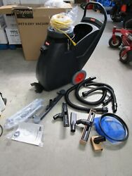 Dayton Commercial Shop Wet And Dry Vacuum - Model 5umr0 - New In Box