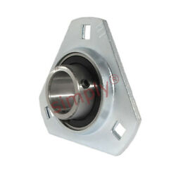 Sbpft204-12 Pressed Steel 3 Bolt Triangle Flange Housing With 3/4 Inch Insert