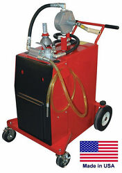 Gas And Fuel Caddy Commercial - 30 Gallon - Ul And Osha Approved - Rotary Hand Pump