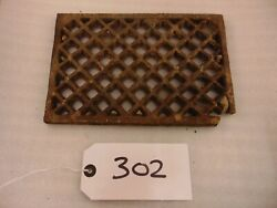 Reclaimed Cast Iron Floor Grill Grille Air Brick Vent Ref 302