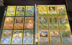 Complete Original 151 Pokemon Cards + Extras And First Editions