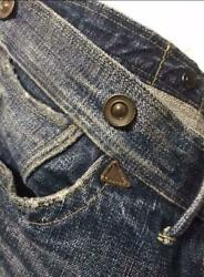 Rrl Made In Usa Candle Stick 3 Denim Jeans Vintage Processed W34 F/s From Japan
