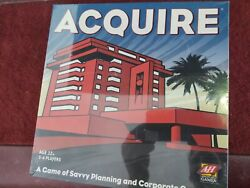 Factory Sealed Acquire Avalon Hill Board Game Hotel Finance Stock Market 2008
