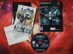 Final Fantasy Xi Online Playstation 2 Vanadium Collection2008.clean And Trsted