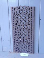 Victorian Cast Iron Grill Grille Church Greenhouse Vent Air Floor Vent Ref 50