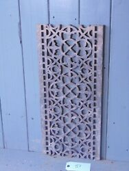 Victorian Cast Iron Grill Grille Church Greenhouse Vent Air Floor Vent Ref 51