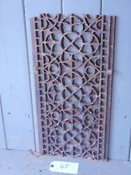 Victorian Cast Iron Grill Grille Church Greenhouse Vent Air Floor Vent Ref 46