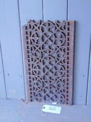 Victorian Cast Iron Grill Grille Church Greenhouse Vent Air Floor Vent Ref 42