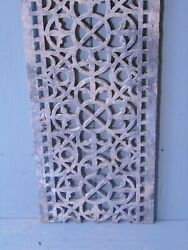 Victorian Cast Iron Grill Grille Church Greenhouse Vent Air Floor Vent Ref 40