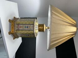 Wildwood Porcelain And Brass Table Lamp