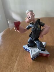 Popeye Sept 11 Policeman Figurine Limited Edition King Features 2002 Vandor