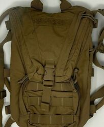 Usmc Issue Coyote Filbe Hydration Carrier - Cif Usgi Molle