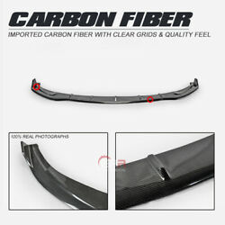 For Tesla Model 3 Ro Type Carbon Fiber Front Lip Fit Ro Front Bumper Only