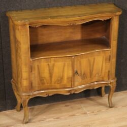 Sideboard Two Doors Furniture Cabinet Vintage In Inlaid Wood Antique Style 900