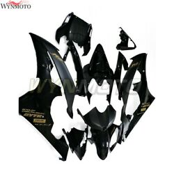Motorcycle Abs Fairings For Yamaha Yzf-600 R6 Black 2008 09 10 11 12 13 14 15 16
