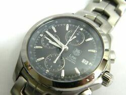 Tag Heuer Link Automatic Cjf2112 Gk0919 Chronograph Date Men's Watch Wl33387