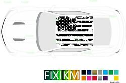 American Flag Graphics Vinyl Decal For Roof Or Hood Chevrolet Camaro 1967-2020