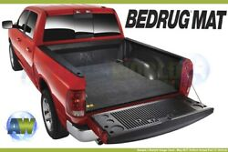 Bedrug Custom Gray 6.6ft Bed Mat For Truck With Existing Drop-in Liner Bmn04kcd