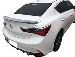 Painted Spoiler For An Acura Ilx Factory Style Flush 2020-2021