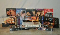 Lot Of 11 Vhs Tapes Normal Vintage Wear, Please See Photo's And Description