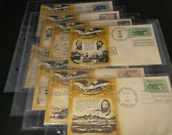 Set Of 8 Official Patriotic Envelopes From The Civil War Centennial Commission