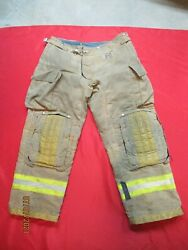 Mfg 2011 Morning Pride 38 X 31 Fire Fighter Turnout Pants Bunker Gear Rescue