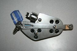Schaefer 23-55 Stainless Fiddle Block W/ Cam And Becket New