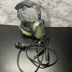 Vintage David Clark Pilot Headset Model H10-40 And039as Isand039 Untested
