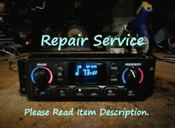 C5 Corvette Climate Control Lcd Hvac A/c Repair Service And03997-and03904