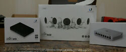 Counifi Video Uvc-nvr-2tb With 5 Uvc-g3-micro Cameras And Unifi Switch 8us-8