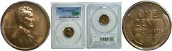 1920-s Lincoln Cent Pcgs Ms-65 Rb Cac