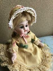 Kastner With Straw Bonnet German Made Doll Collectible Antique Free Shipping Jpn