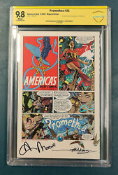 Promethea 32 Cbcs 9.8 Signed By Alan Moore And Jh Williams Iii 2005 76/1000