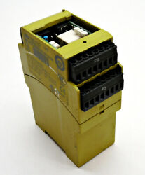 Pilz Pswz X1p 3v/24-240vacdc 2n/o 1n/c 2so Safety Relay 777950