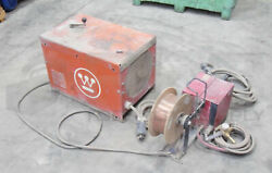 Westinghouse 3349b68g02 Mig Master W/ Lincon Electric Ln-7 Wire Feeder And Spool