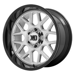 Xd Series Xd849 Grenade 2 24x12 -44 Brushed And Gloss Black Wheel 8x170 Qty 4
