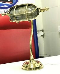 Reclaimed Ship Cast Brass Industrial Desk Lamp Student Piano Lamp Base Lot Of 10
