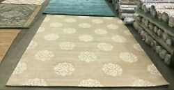 Beige / Ivory 8and039 X 10and039 Back Stain Rug Reduced Price 1172629100 Soh724b-810