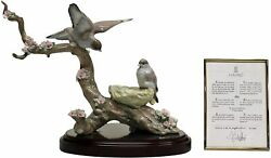Lladro 1854 Spring's New Arrival With Original Box And Coa