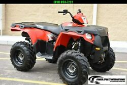 POLARIS SPORTSMAN 500 HO 4X4 FIRE ENGINE RED ATV Only 500 Miles #6748 $5999.00