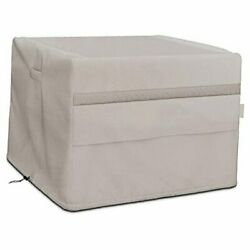Square Fire Pit Cover Also Fits 37-42 Inch Patio Dining Table 44l X 44w X