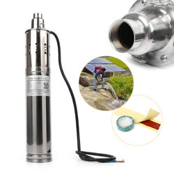 48v 3m3/h 50m-120m Deep Well Pump Solar Submersible Powered Water Pond Fountain