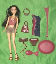 Nolee Spring Break 2003 Barbie Doll W/ Outfits And Stand My Scene