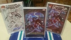 Amazing Spider-man Renew Your Vows 2 Sdcc Color/b+w/virgin Rare Signed Stan Lee